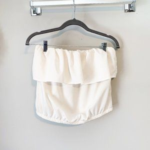 Forever 21 Cropped Blouse Size Small